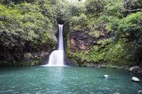 Mauritius. Small falls in