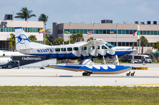 Tropic Ocean Airways Cessna 208 Caravan airplane Fort Lauderdale airport