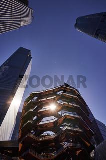 The Vessel im Stadtteil Hudson Yards in New York