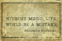music life Nietzsche