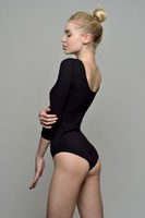 portrait of the beautiful blonde gymnast woman i