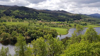 The famous Queen's View in the Scottish Highlands