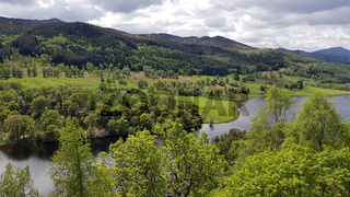 Aussichtspunkt Queen's View in Schottland