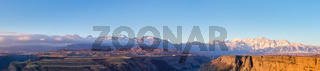 xinjiang kuitun grand canyon panorama