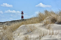 lighthouse on the island of Sylt