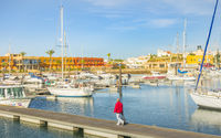 yachts and condominium, portimao marina