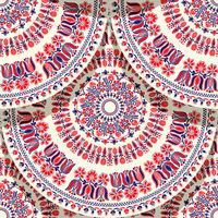 Hungarian motif tile 8