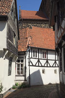 Minden - Alley in the upper old town, Germany
