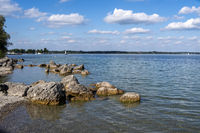Badestelle am Chiemsee