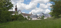 the famous monastery eberbach near eltville hesse germany