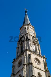 Cluj, Romania. St. Michael's Church in Cluj-Napoca, Transylvania