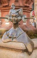Figures Kaiserbrunnen, Marktstaette Constance by  Barbara and Gernot Rumpf