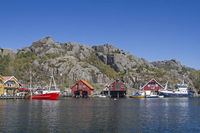 Rekefjord - Fishing village in southern Norway