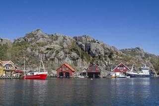 Rekefjord - Fishing village in southern Norway