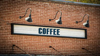 Street Sign to Coffee