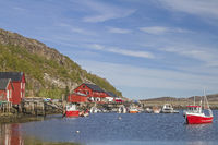 Port of Vingsand in Norway