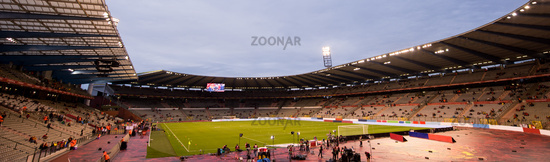 a professional footbal soccerl stadium