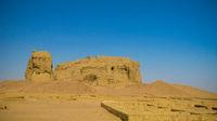 View to Western Deffufa temple ,Kerma, Nubia, Sudan
