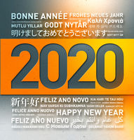 Happy new year greetings from the world