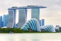 Gardens Marina Bay river Singapore