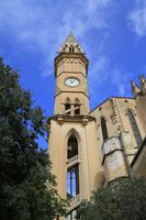 Church of our Lady of Sorrows in Manacor, Mallorca, Spain