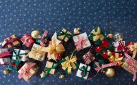 Festive Christmas presents