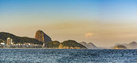 Copacabana Beach and Sugar Loaf