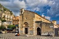 Kirche von St. Augustine in Taormina, Sizilien