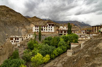 Lamayuru Monastery, Srinagar Leh Highway, Leh, Jammu and Kashmir, India.