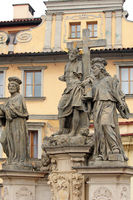 sculptures in Prague