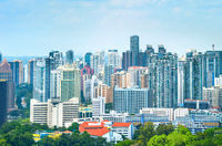 Singapore modern residential city district