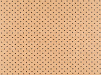 Brown craft paper with small black dots