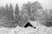 Winter in the Vogtland - Kottenheide