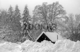 Winter im Vogtland - Kottenheide