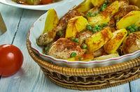 Italian-American Chicken Vesuvio