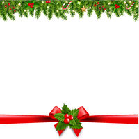 Christmas Borders Transparent Background