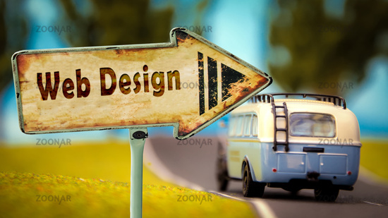 Street Sign to Web Design