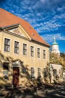 Ringelnatzhaus und Wenceslaikirche in wurzen, deutschland