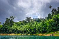 Cheow Lan Lake, Khao Sok National Park, Thailand