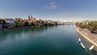 View on Rhine in Basel
