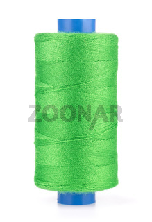 Spool of green thread