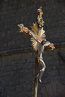 crucifix, christian procession, Assisi, Italy, Europe