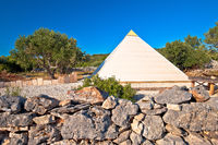 Pyramid of Sali on Dugi Otok island