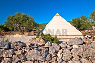 Pyramid of Sali on Dugi Otok island