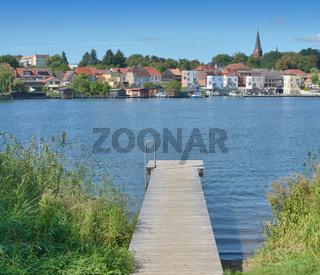 Inselstadt Malchow in der Mecklenburgischen Seenplatte,Mecklenburg-Vorpommern,Deutschland