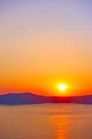 Sundown in Santorini
