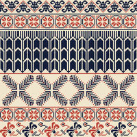 Palestinian embroidery pattern 22
