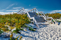 Crane beach, Ipswich, Massachusetts, USA
