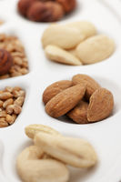 nuts almonds and cashews