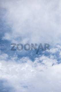 Cloudscape and blue sky at summer day